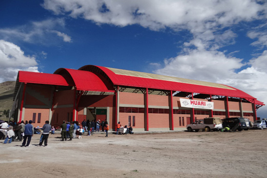 Coliseo Cerrado Huari