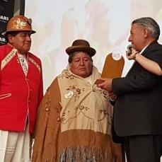 Alcaldía y Huari distinguen a más de 35 gestores del Carnaval de Oruro