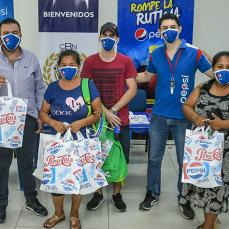 CBN, a través de su marca Pepsi, entrega ítems de bioseguridad para tiendas en Santa Cruz