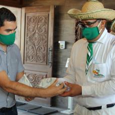 CBN apoya con 17.000 materiales de bioseguridad a restaurantes