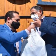 CBN apoya con 17 mil materiales de bioseguridad a restaurantes.
