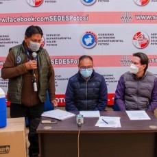 CBN continúa con su apoyo a la campaña de vacunación contra el COVID-19 con la donación de 30 conservadores de frío al SEDES de Potosí