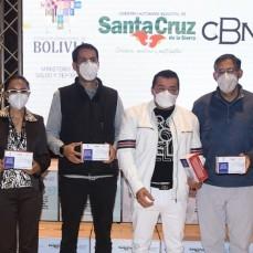 CBN dona 10.000 kits de medicamentos contra el COVID-19 a la Alcaldía de Santa Cruz a través del Ministerio de Salud