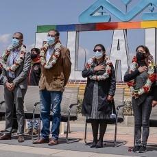 CBN dona 6 mil bolsas con alimentos para  incentivar la vacunación de las familias de El Alto