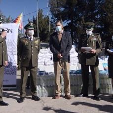 CBN dona material de bioseguridad para apoyar el trabajo de la Policía Boliviana