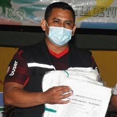 CBN donó al departamento de Pando trajes de bioseguridad hechos en Bolivia.