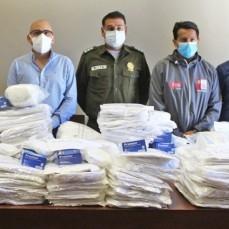 CBN donó al departamento de Tarija trajes de bioseguridad hechos en Bolivia