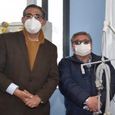 CBN entrega dos ventiladores para terapia intensiva y 207 mil ítems de bioseguridad para combatir la COVID-19