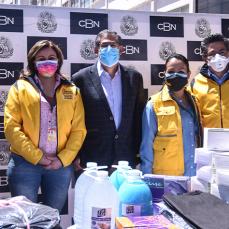 CBN entrega material de bioseguridad al municipio paceño