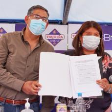 CBN firma convenio con Gobernación de Cochabamba para la compra de 60.000 toneladas de maíz