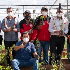 CBN inaugura un vivero en Cervecería Taquiña para trabajar en conjunto con la comunidad