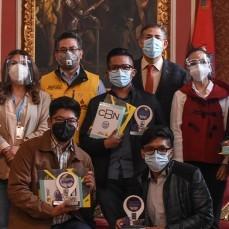 CBN premia las innovaciones de los jóvenes frente al COVID-19