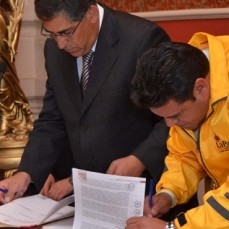 CBN y alcaldía de La Paz sellaron un acuerdo para capacitar a la ciudadanía sobre consumo responsable