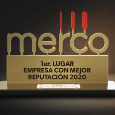 Con cuatro primeros lugares, CBN es la empresa más galardonada  en el ranking del Monitor Empresarial de Reputación Corporativa