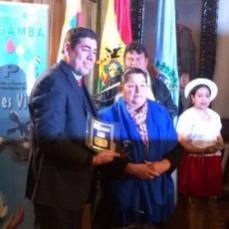 Condecoran a Planta Taquiña por el uso responsable y sostenible de sus fuentes de agua