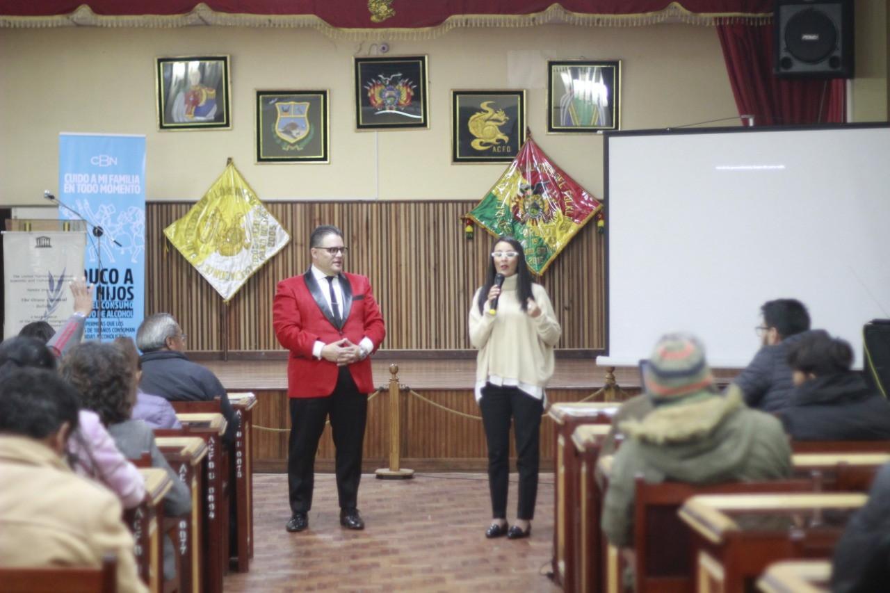 CBN capacita a folkloristas sobre sus roles  y deberes al lucir la cultura boliviana