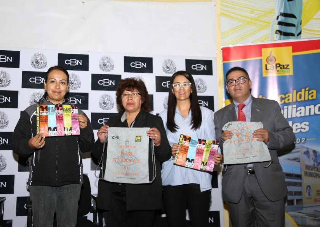 CBN, GAMLP y ACFGP promueven tradición con  responsabilidad en el Gran Poder 2019