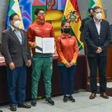 En la adversidad de la pandemia, el programa Tunkas regresa para apoyar a los deportistas bolivianos