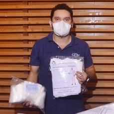Trinidad recibe de la CBN equipos de bioseguridad para enfrentar al COVID-19