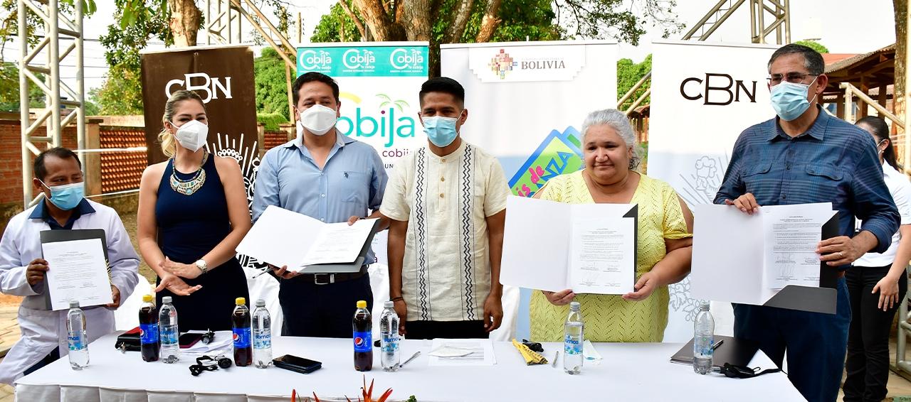 CBN dona una planta generadora de oxígeno para Cobija  y destaca el trabajo coordinado con las autoridades
