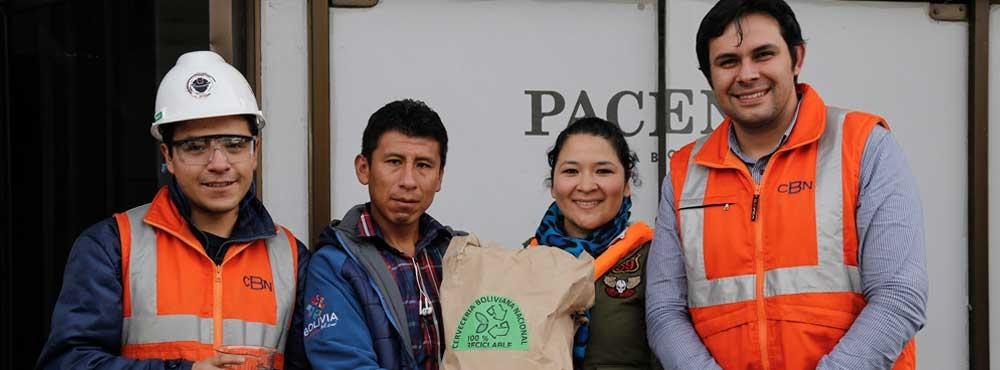 CBN donó abono para reforestación de Achachicala