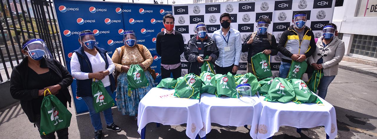 CBN entrega 20.000 ítems de bioseguridad para tiendas en todo el país