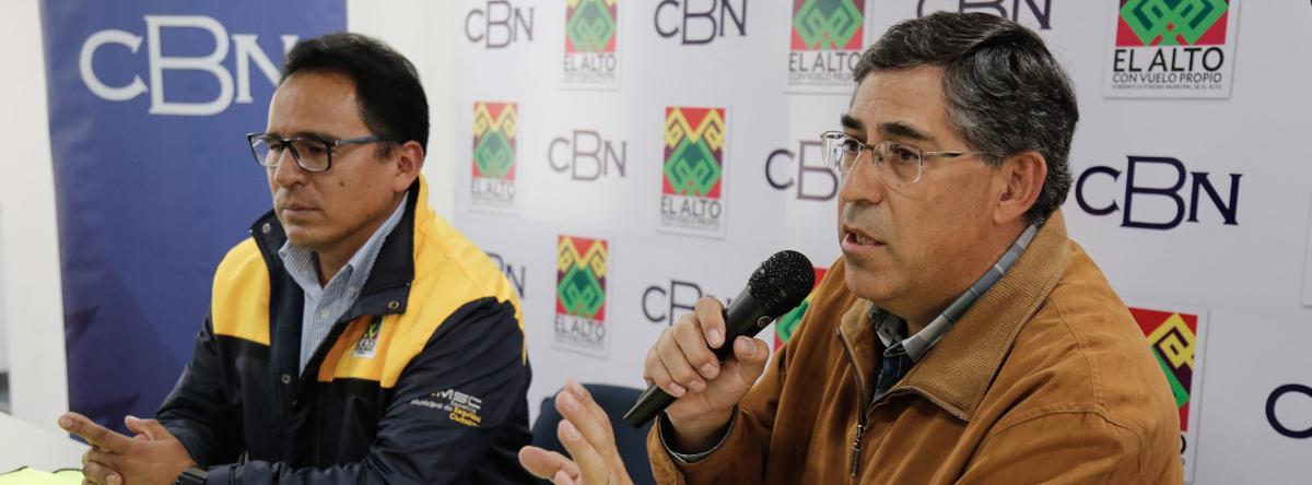 CBN entregó ponchillos de seguridad a  brigadas de padres de familia de El Alto