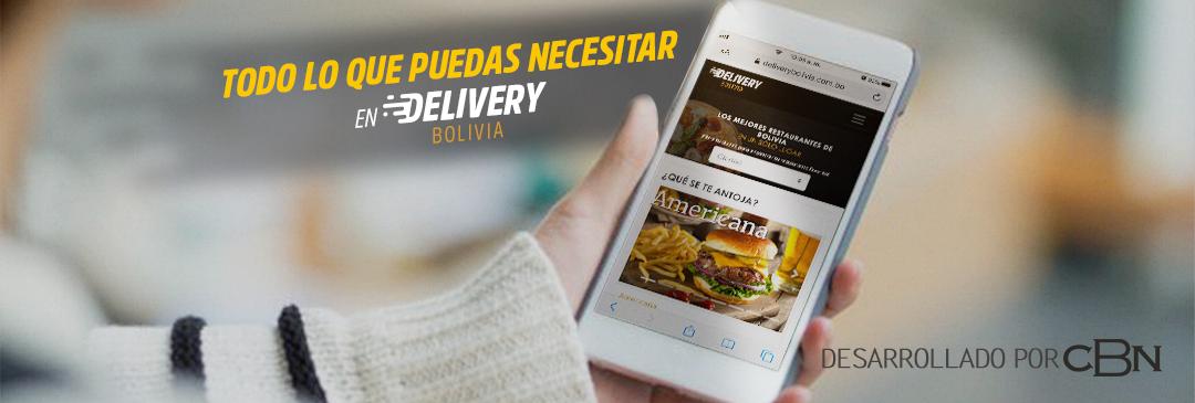 CBN lanza la plataforma Delivery Bolivia para acercar a consumidores y tiendas