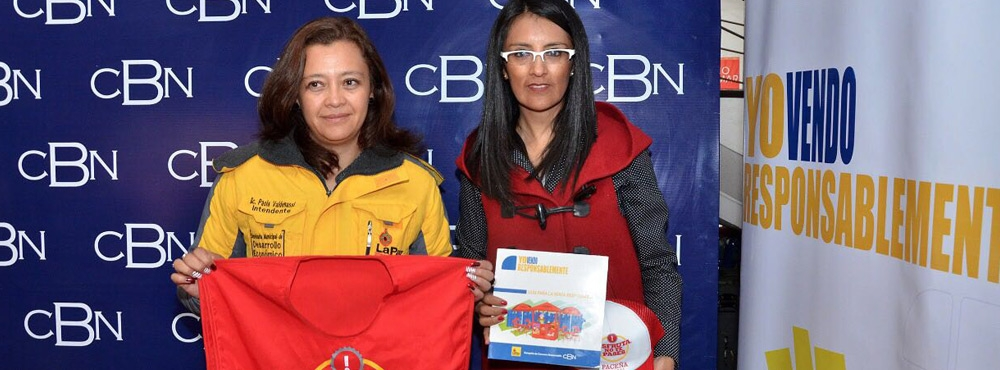 CBN y Alcaldía capacitaron en venta responsable a más de mil vendedores de bebidas alcohólicas