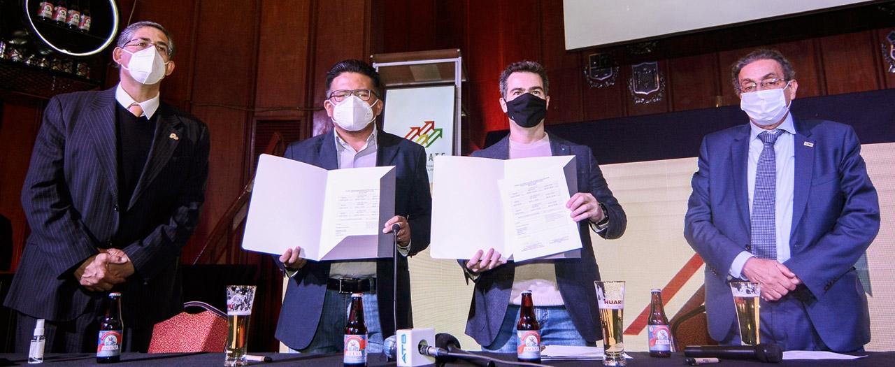 CBN y el SEDEM firman formulario de intención de compra de envases de vidrio por un monto de 169 millones de Bolivianos