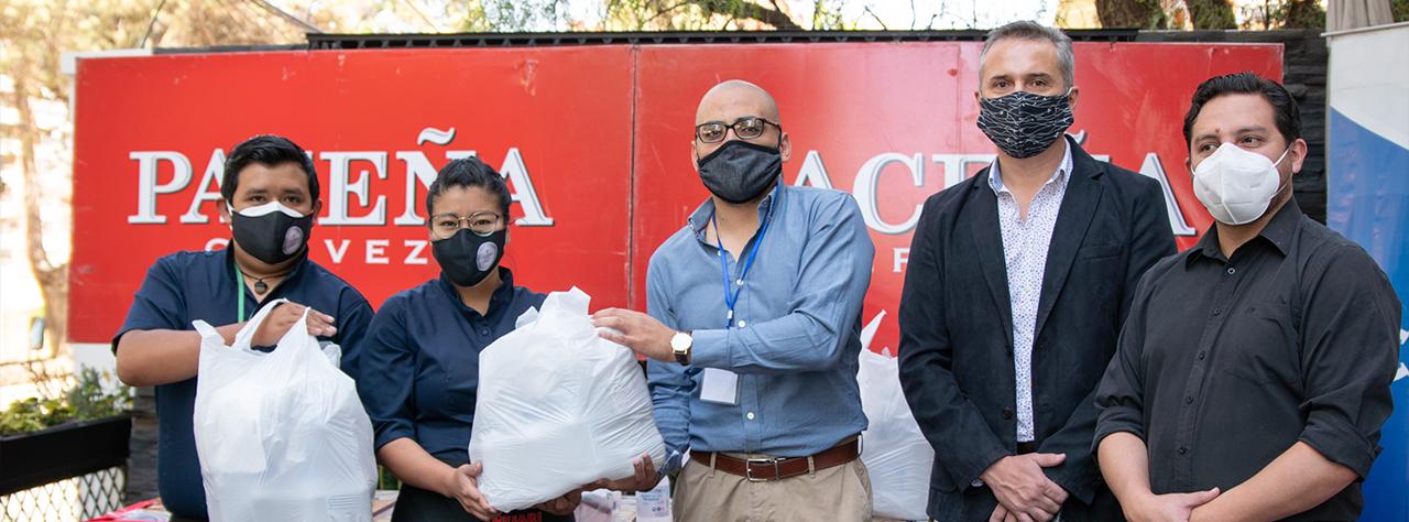Entregamos 17.000 materiales de bioseguridad para restaurantes