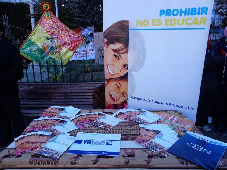 GAMEA y CBN promueven el consumo responsable de bebidas alcohólicas en jóvenes y las familias bolivianas