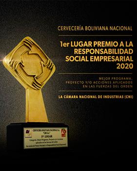 Premio RSE de la Cámara Nacional de Industrias (CNI)